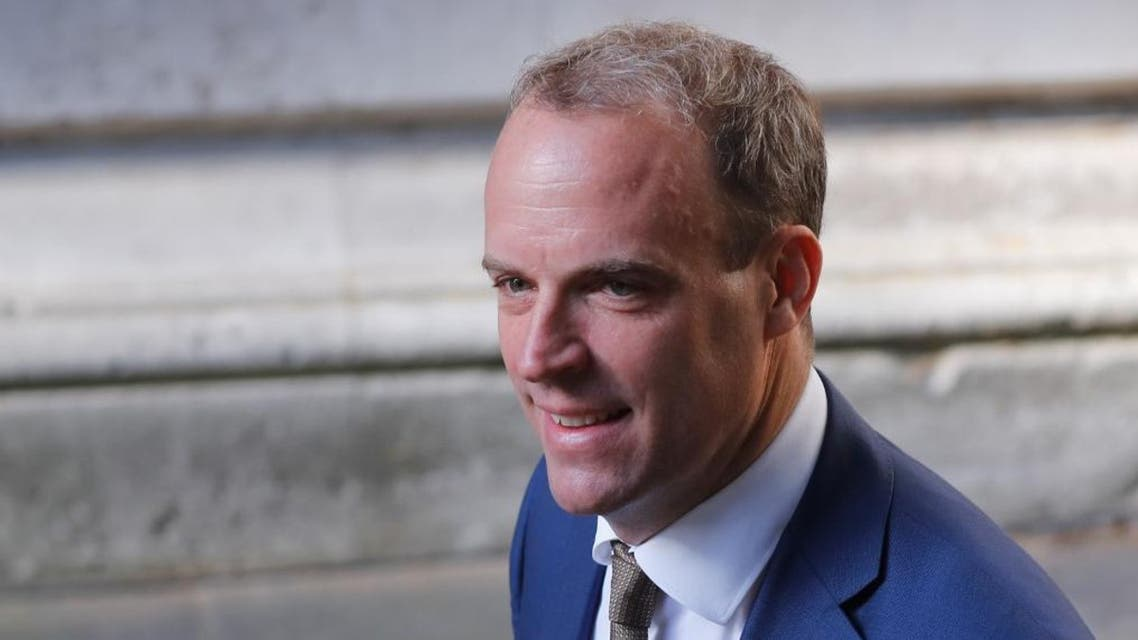 UK Secretary of State for Foreign Affairs Dominic Raab