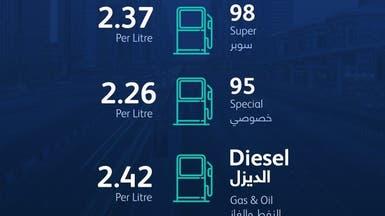 ارتفاع أسعار الوقود بالإمارات 3% لشهر أغسطس