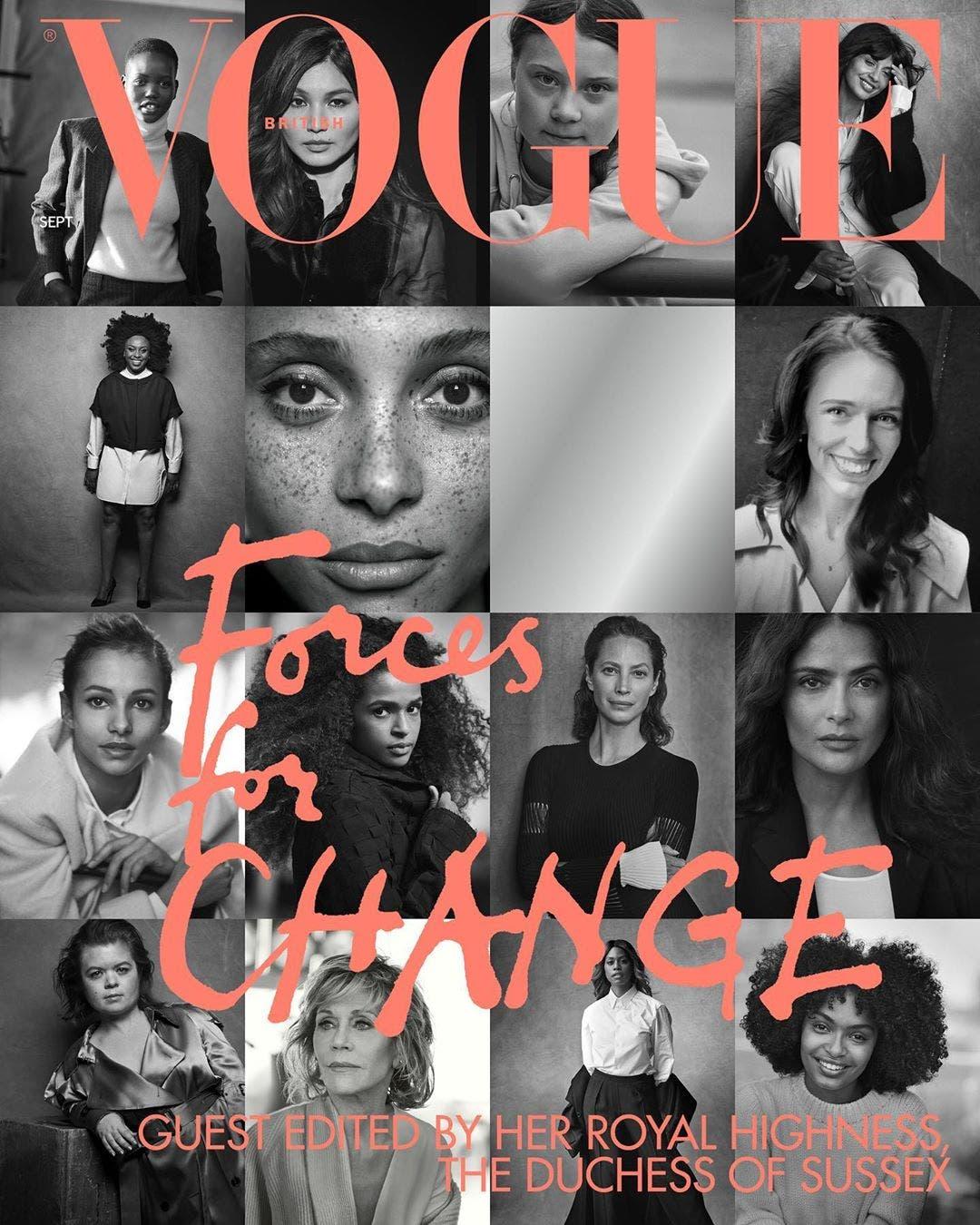 غلاف عدد مجلة فوغ لشهر سبتمبر المقبل