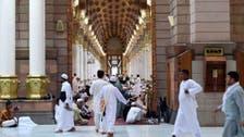 مسجد نبوی میں حجاج کرام کی خدمت پر7720 افراد پر مشتمل عملہ مامور