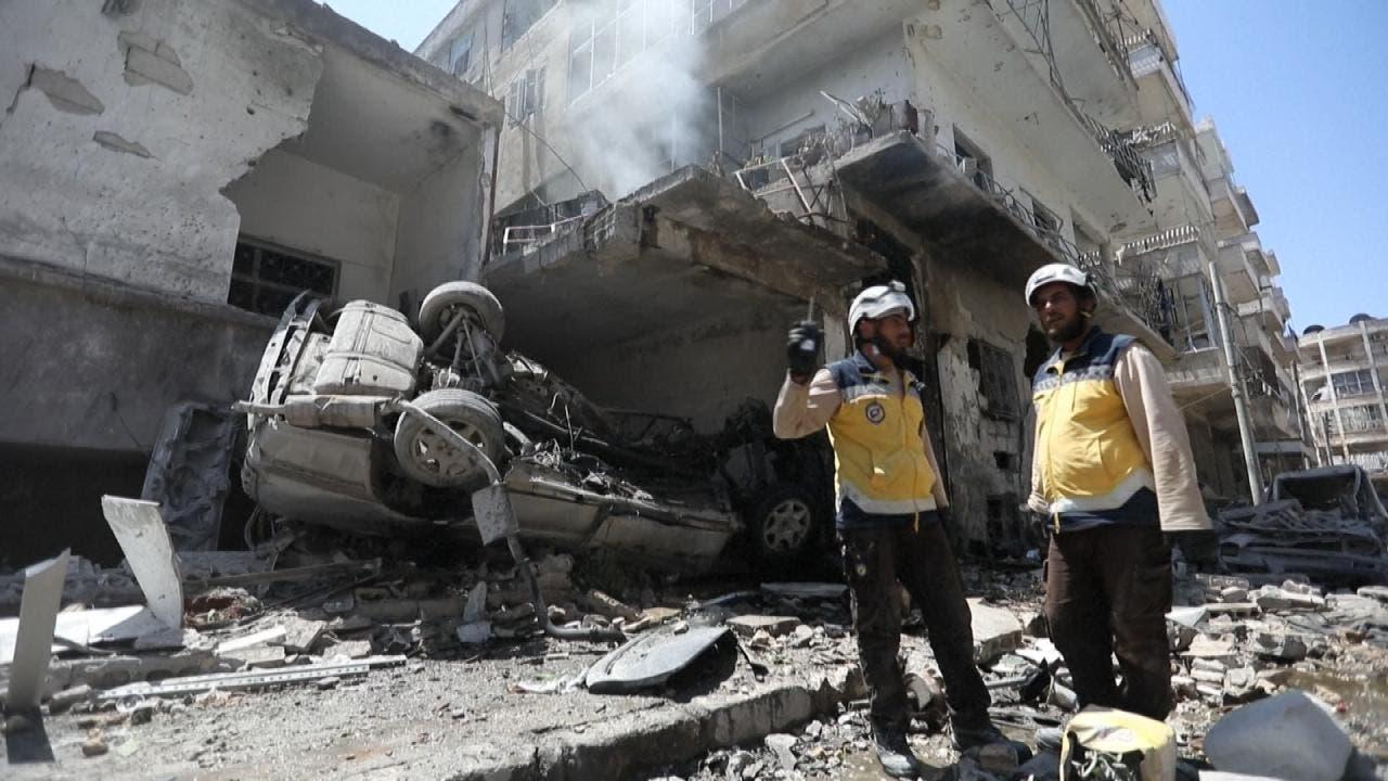 طائرات النظام وروسيا تكثف قصفها على ريف إدلب