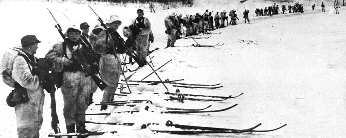 جنود فنلنديون