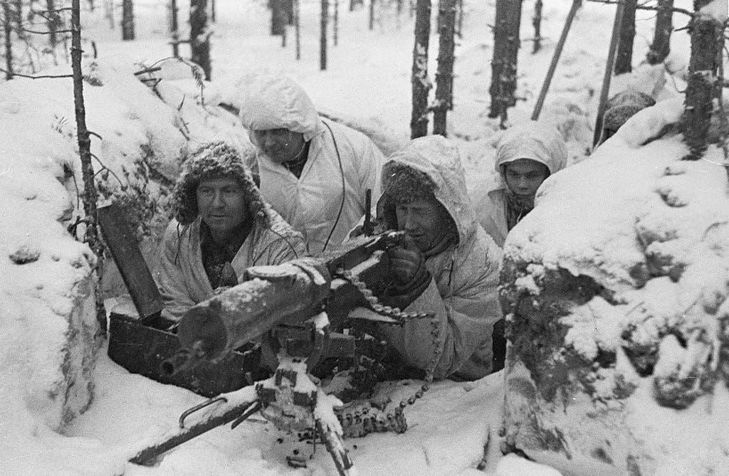 جنود فنلنديين