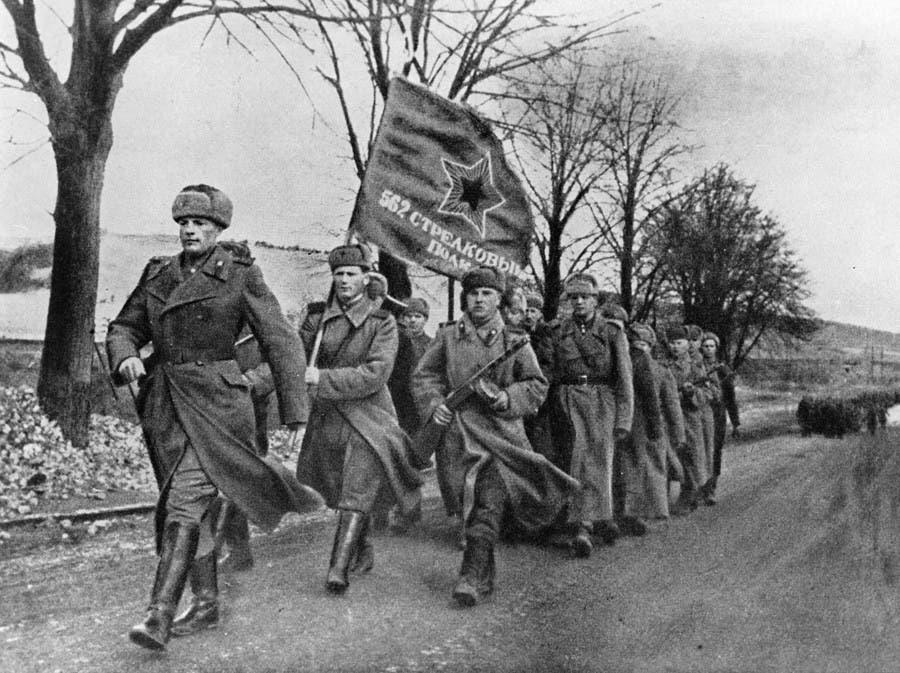 إحدى الفرق العسكرية السوفيتية