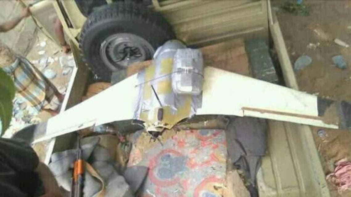 Houthis Drone hit by yameni force