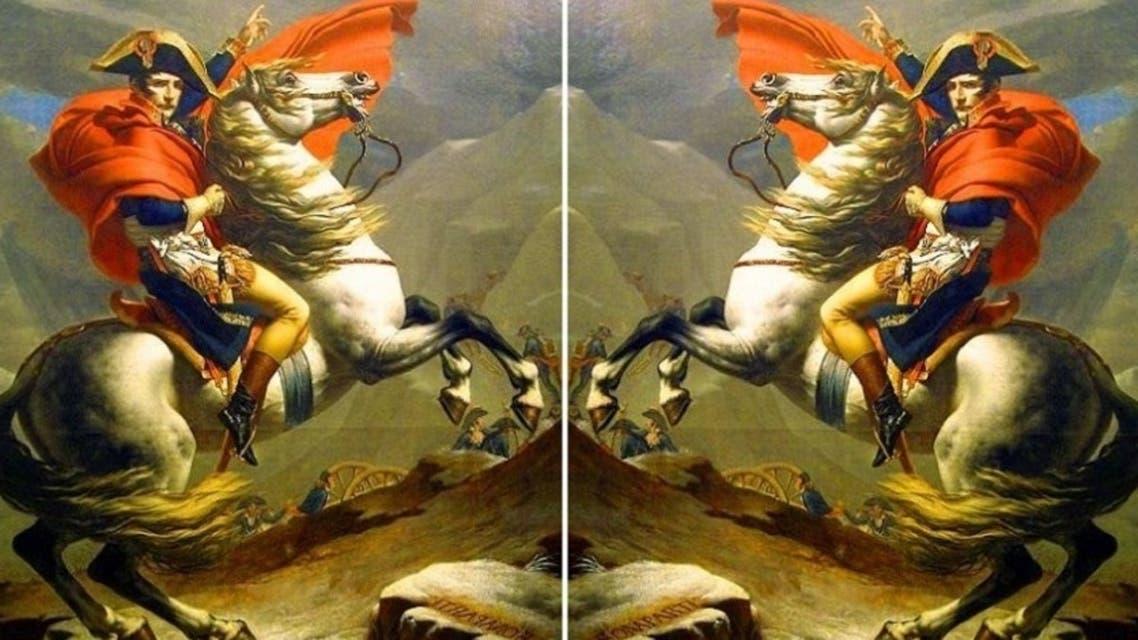 الحصان جسدته لوحة شهيرة لنابليون