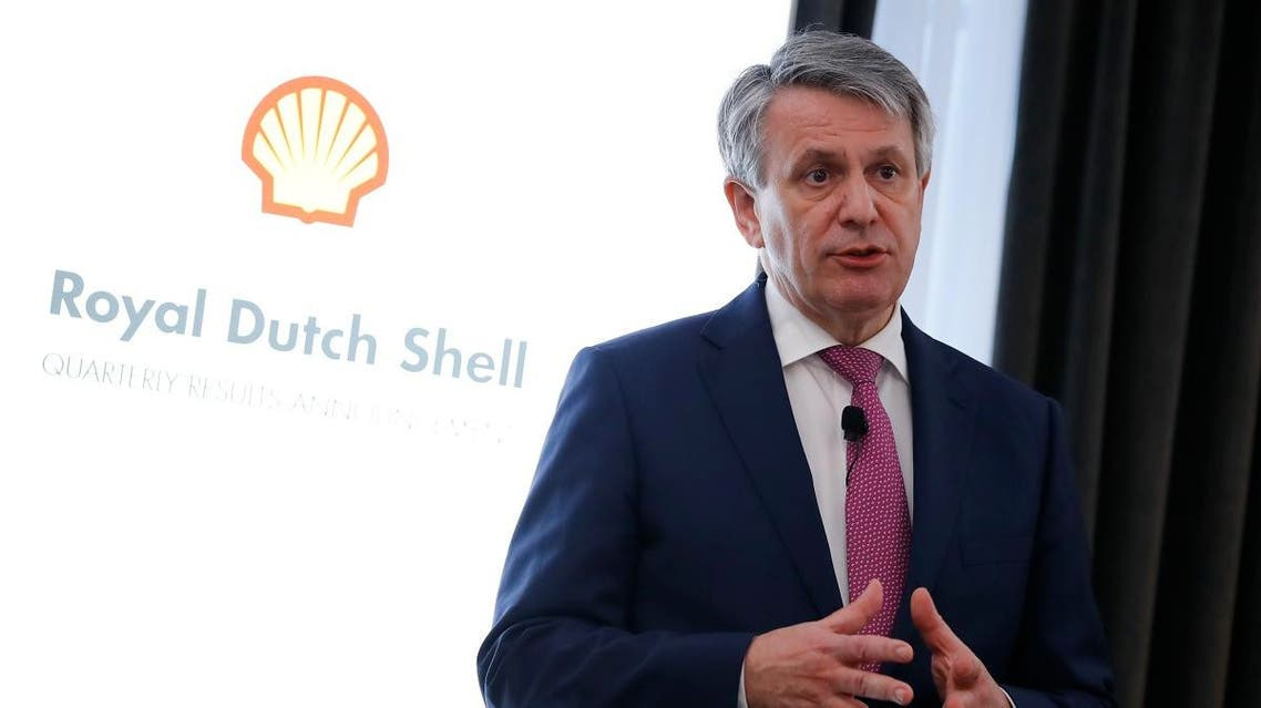 Royal Dutch Shell chief executive Ben van Beurden. (AFP)