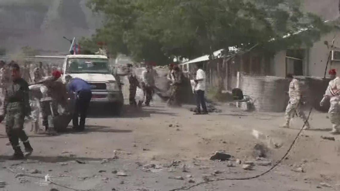 THUMBNAIL_ المشاهد الأولية للهجوم الحوثي على معسكر الجلاء بعدن