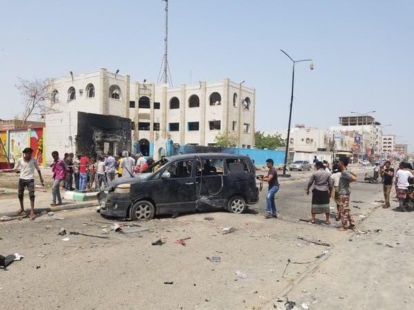 داعش يتبنى الهجوم على مركز الشرطة في عدن الخميس