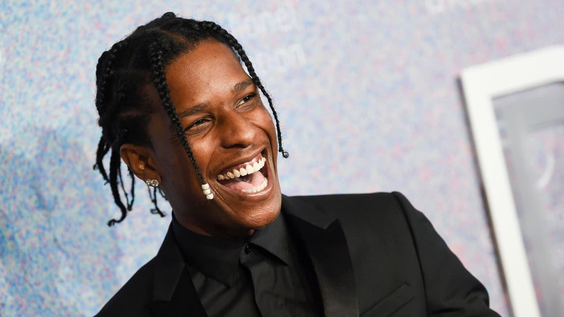 A$AP Rocky attends the 4th annual Diamond Ball at Cipriani Wall Street on Thursday, Sept. 13, 2018, in New York. (AP)