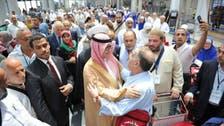 لبنانی عازمین حج کو رخصت کرنے کے لیے سعودی سفیر بیروت ایئرپورٹ پر
