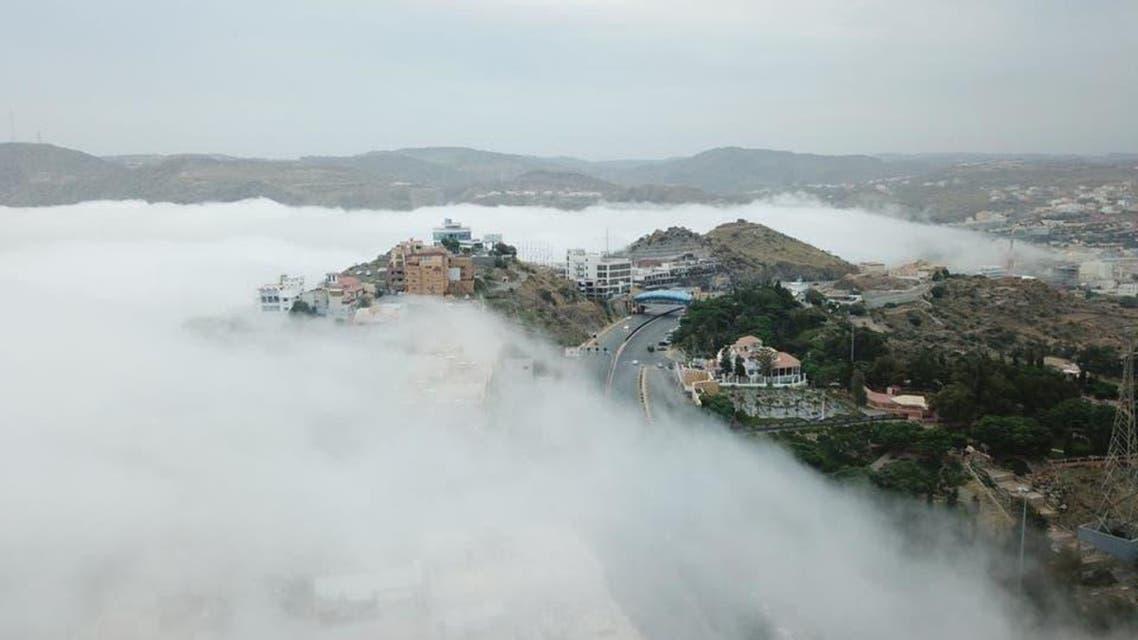 KSA: ABHA fog