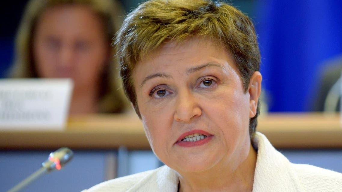 Kristalina Georgieva of Bulgaria at the EU Parliament in Brussels. (File photo: Reuters)