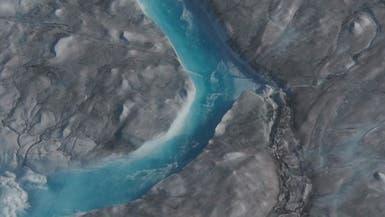 علماء ناسا يحلقون فوق غرينلاند لرصد ذوبان أنهار جليدية