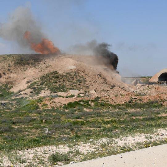 المرصد السوري: ضربات إسرائيلية على مواقع عسكرية في حمص
