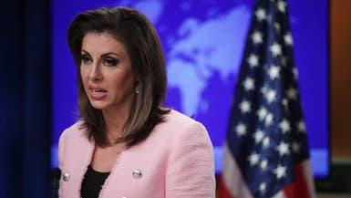 """الخارجية الأميركية لـ""""العربية"""": إيران تتدخل بدول المنطقة لزرع الفوضى"""