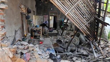 قتلى وجرحى في زلزال قوي يضرب إندونيسيا