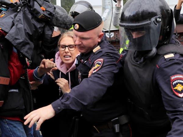 الشرطة الروسية تعتقل مئات الأشخاص في احتجاج للمعارضة