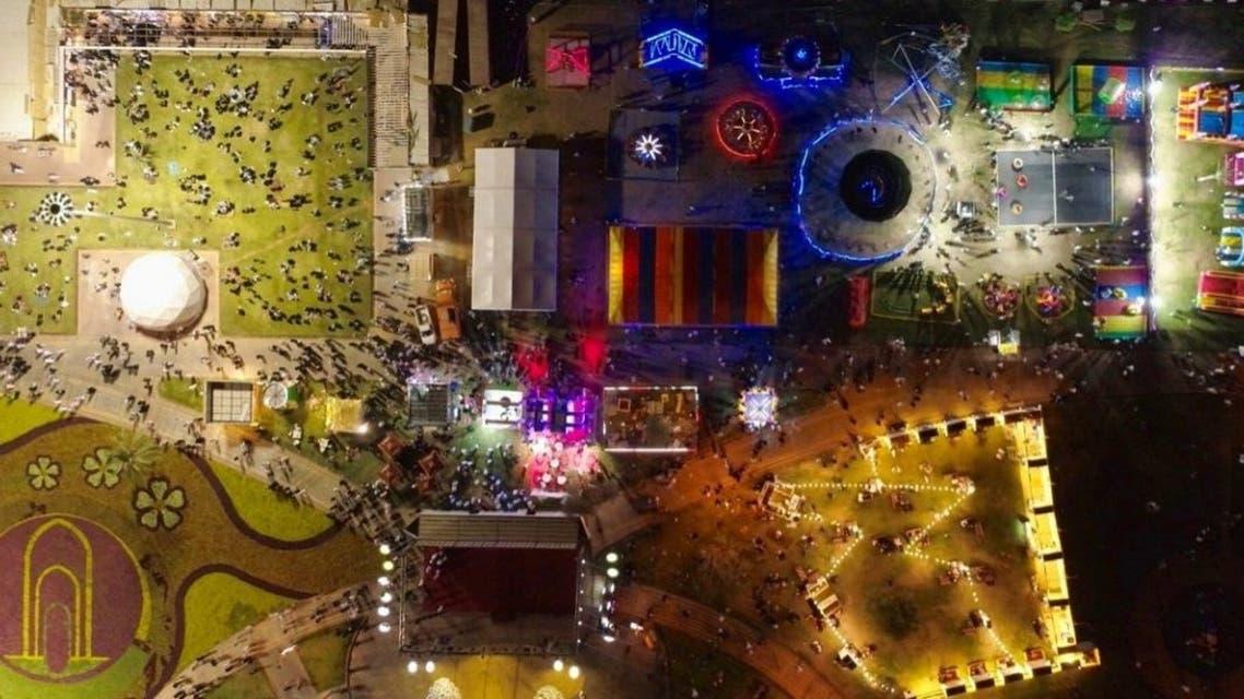 مهرجان الفاكهة والورد في تبوك