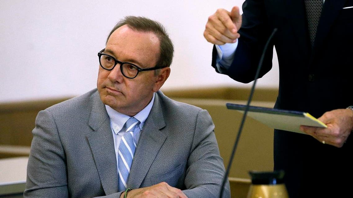 Kevin Spacey attends a pretrial hearing at district court in Nantucket, Mass. (File photo: AP)
