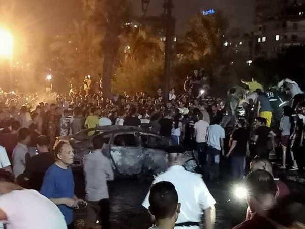 حادث القاهرة.. إخلاء معهد الأورام من القتلى والمصابين