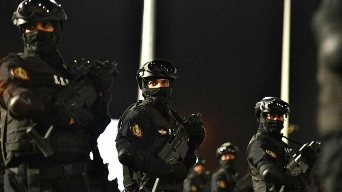 بالصور.. عرض عسكري لقوات الأمن السعودي المشاركة بالحج