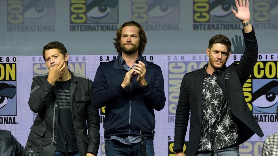 Supernatural at Comic Con AFP