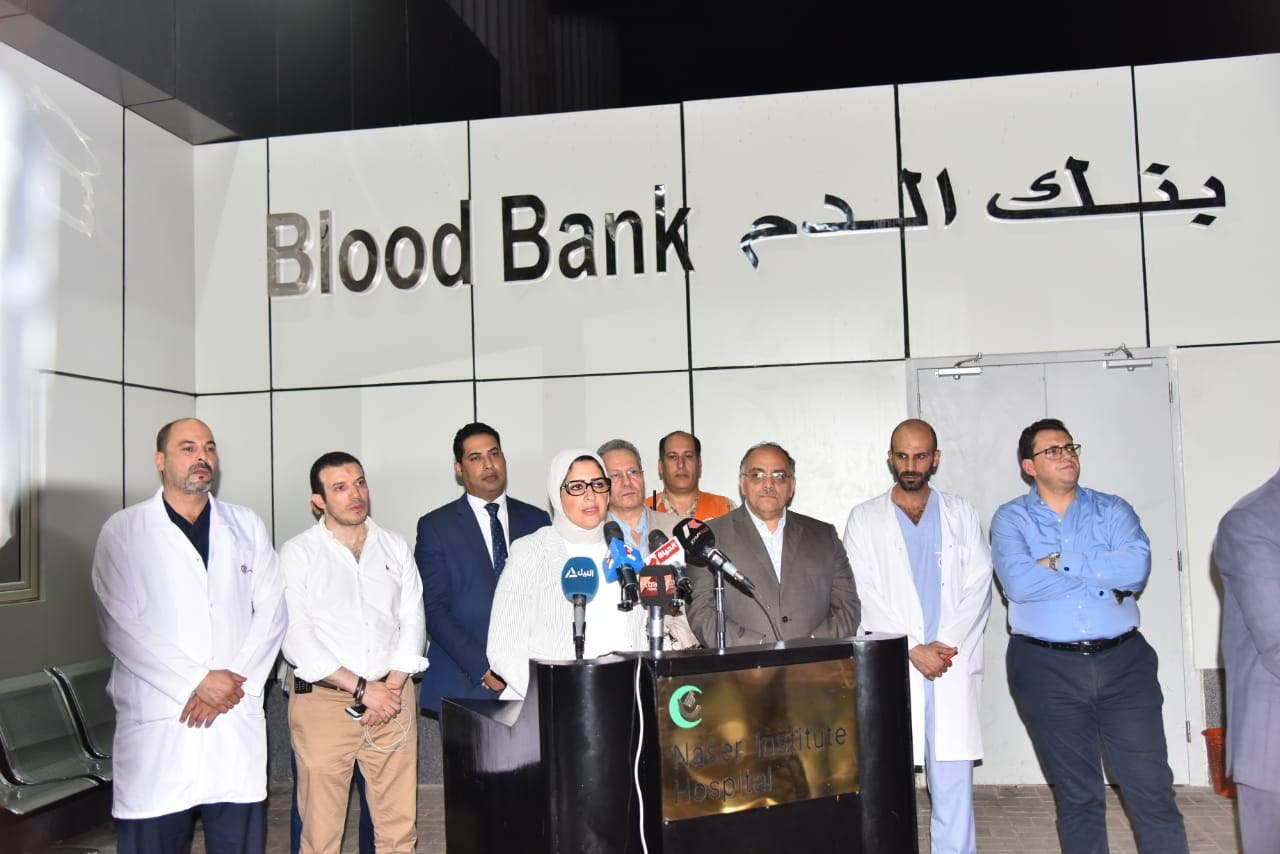 وزارة الصحة  المصرية سارعت إلى التعامل مع الحادث المأساوي