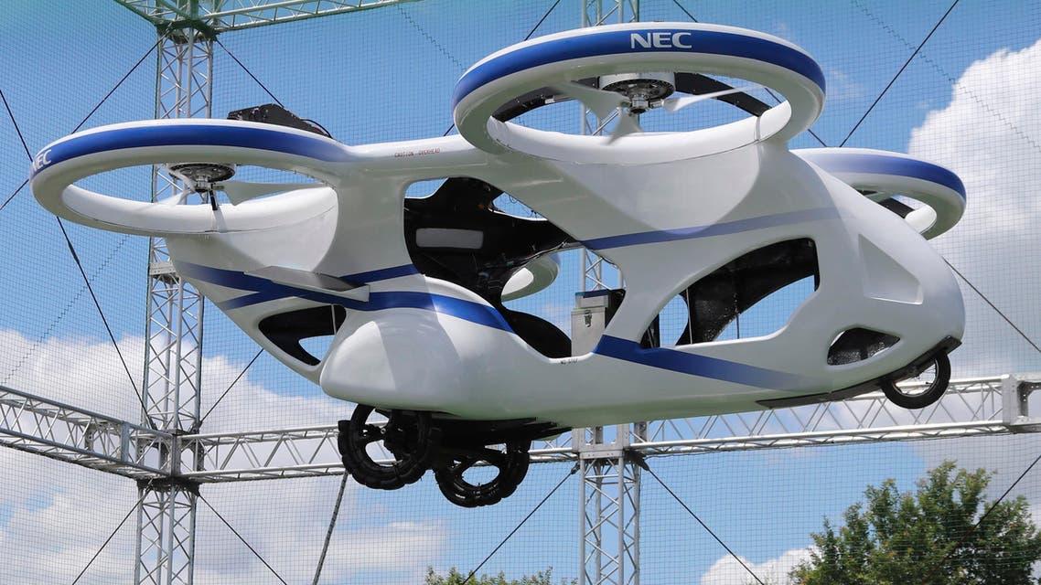 Japan NEC flying car - AP