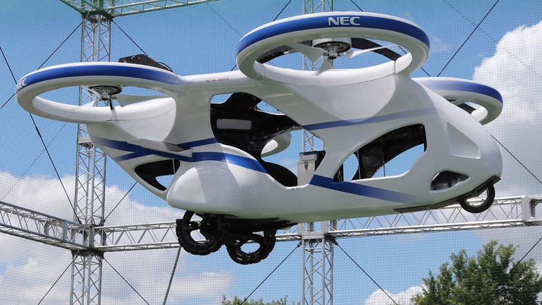 Image result for Japan successfully tests flying car which hovers steadily for a minute