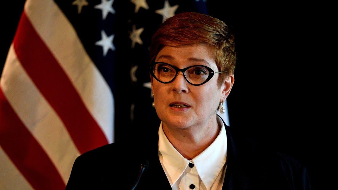 Australia's Defense Minister Linda Reynolds (AFP)