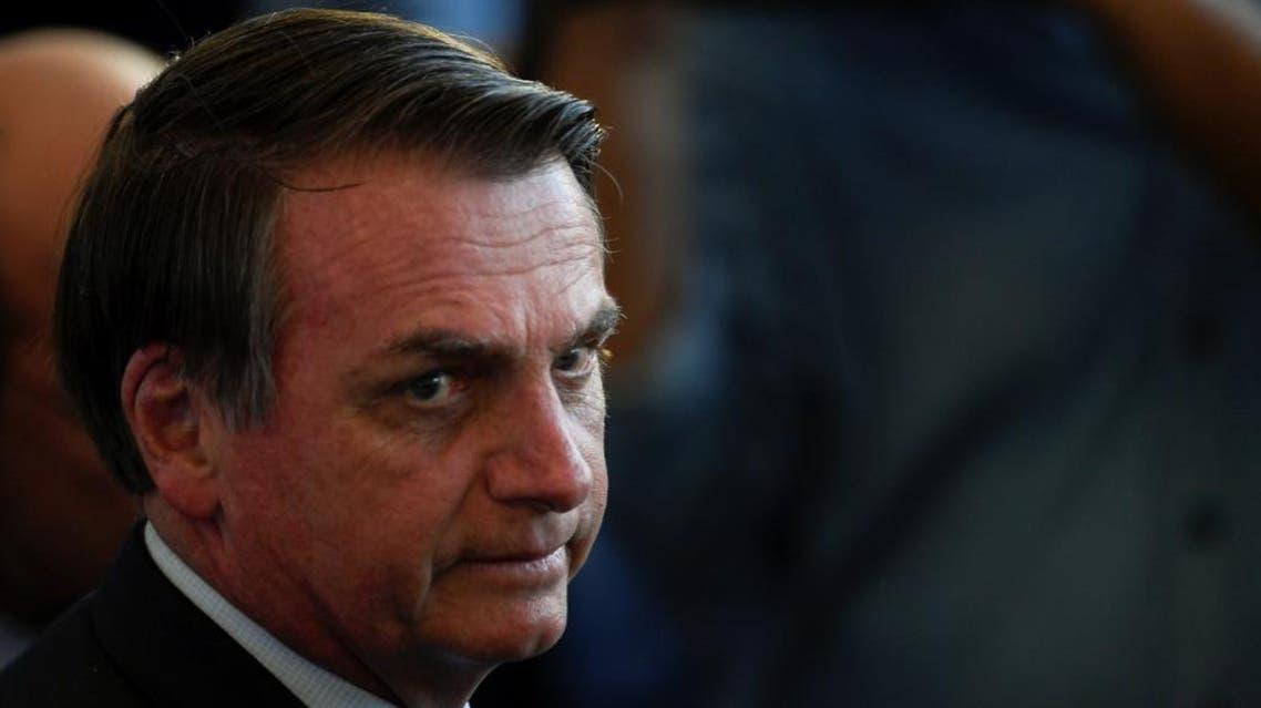 jan bolsonaro brazilian president (AFP)