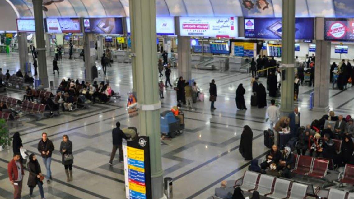 مطار مهرآباد الدولي في العاصمة الإيرانية
