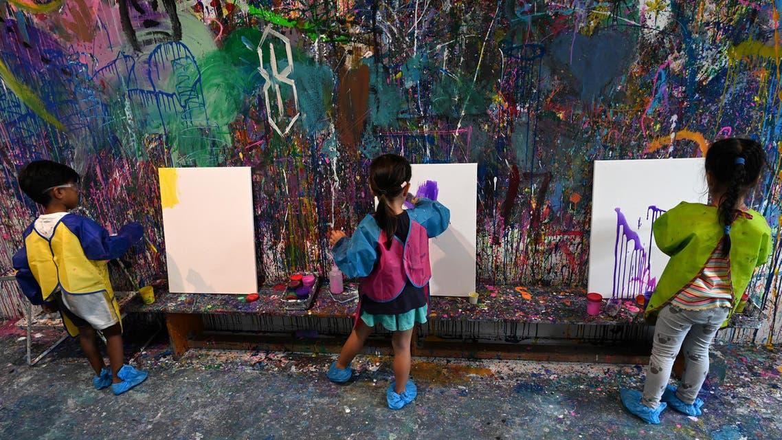 Singapore paint rage room Aug 2019 (AFP)