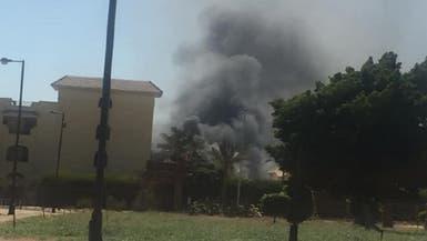 مصر.. حريق بمدينة للملاهي قرب مدينة الإنتاج الإعلامي