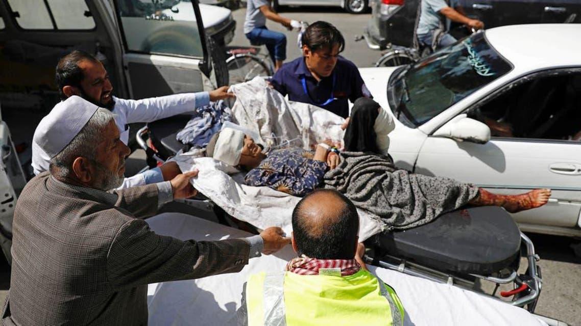 Afghanistan: kabul blast 95 injuried