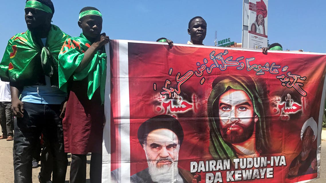 The Islamic Movement in Nigeria draws inspiration from Iran's former Supreme Leader Ruhollah Khomeini. (File photo: Reuters)