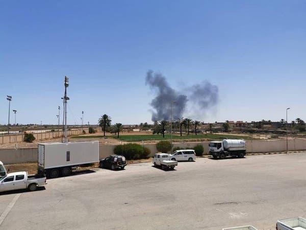 ليبيا.. الجيش يدمّر طائرة مقاتلة على مدرج مطار مصراتة