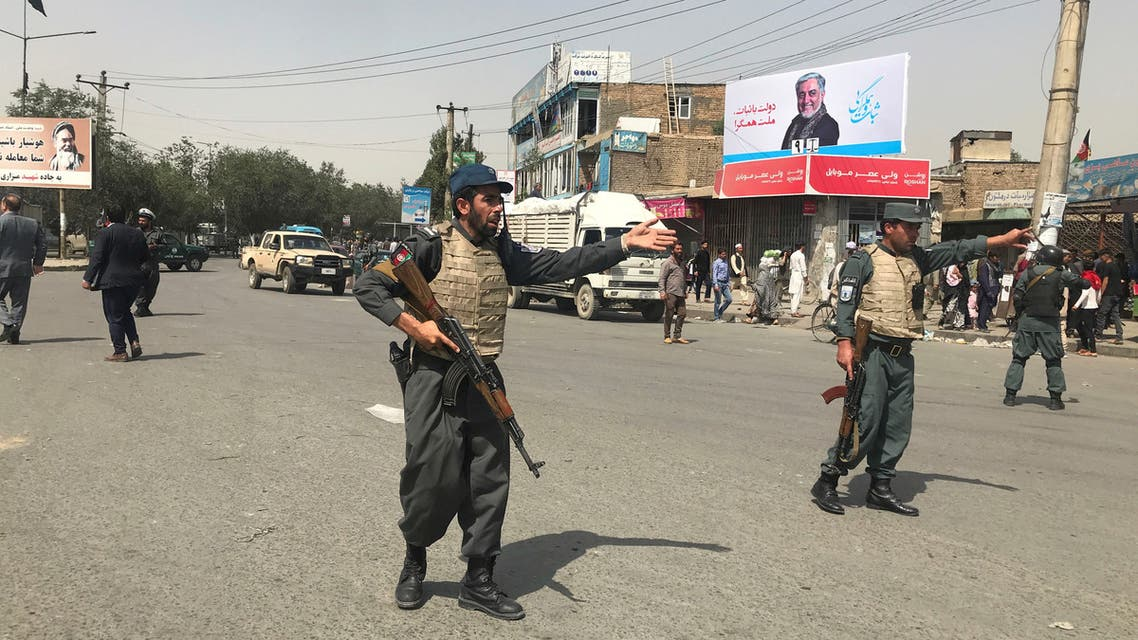 الشرطة الأفغانية كابول انفجار
