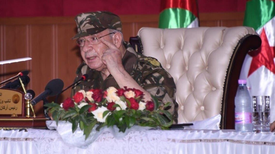 رئيس الأركان الجزائري قايد صالح قائد صالح الجزائر