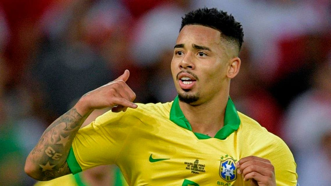Brazil's striker Gabriel Jesus. (File photo: AFP)