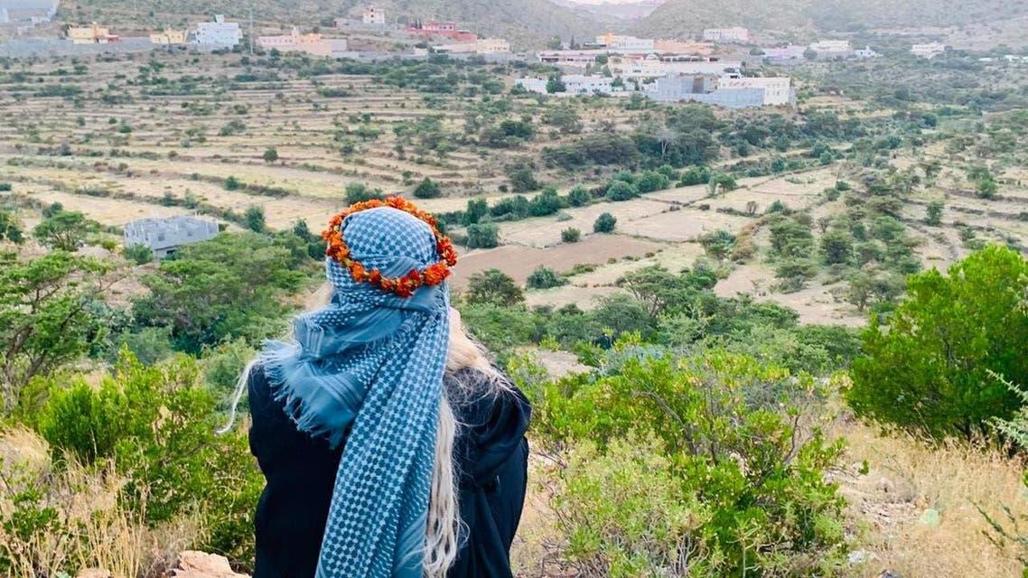 خاتون سیاح کی سعودی عرب کی سیر