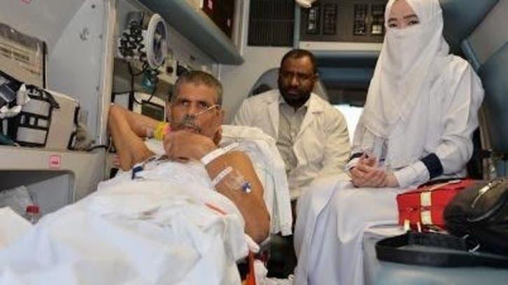 ویدیو.. ارسال گروهبندی حجگزاران بستری در بیمارستانهای مدینه به مشاعر مقدسه