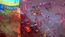 شاهد جنون الرعب يدبّ فجأة والمئات يهربون من وسط نيويورك
