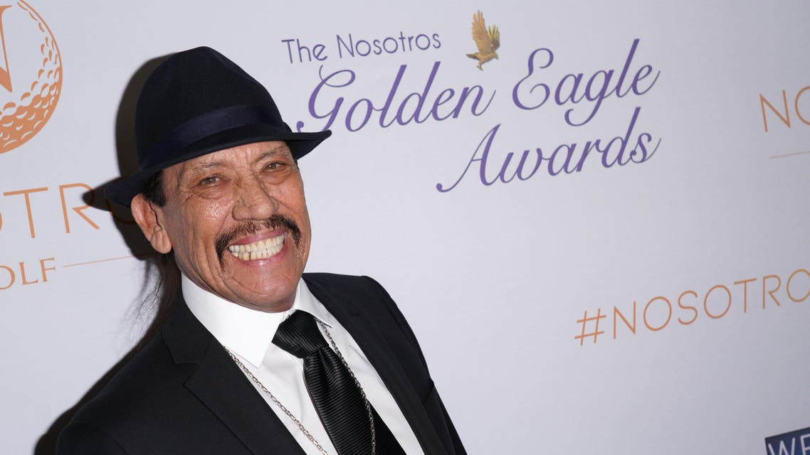 Actor Danny Trejo attends The Return of The Nosotros Golden Eagle Awards at Montebello Country Club on November 05, 2018 in Montebello, California. (AFP)