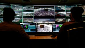 Here's how the Saudi 911 security center operates during Hajj