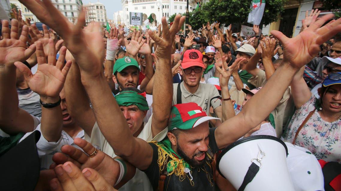تظاهرات سابقة في الجزائر