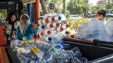 Trash for tickets on Indonesia's 'plastic bus'