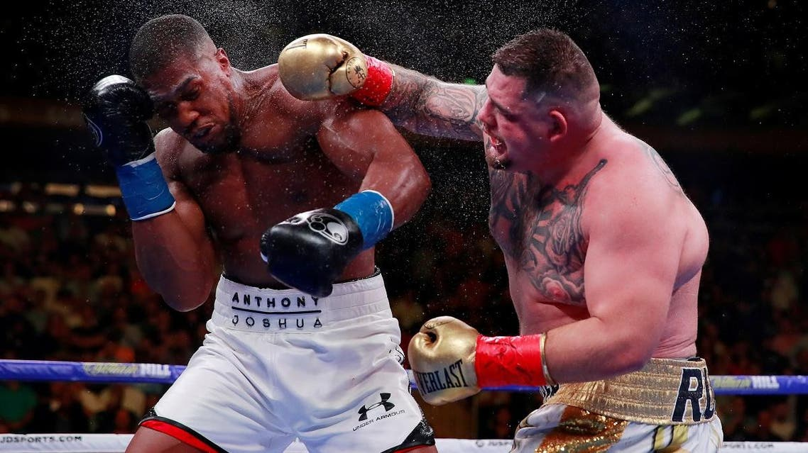 Ruiz produced one of boxing's biggest upsets by beating the 29-year-old Joshua with a seventh-round stoppage at New York's Madison Square Garden on June 1. (Reuters)