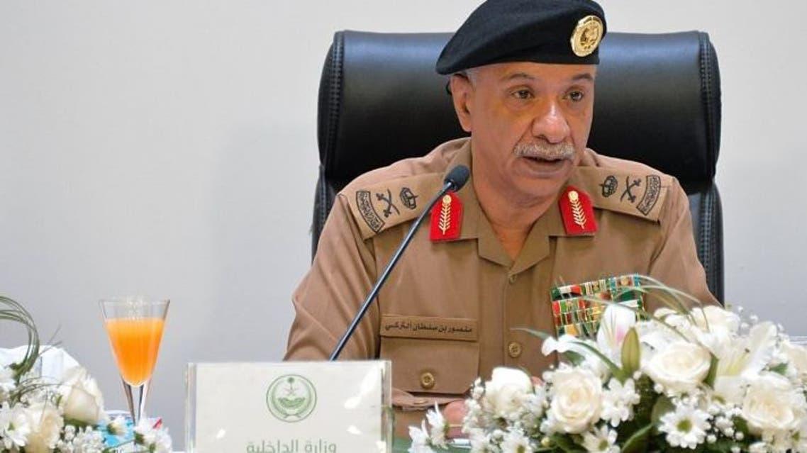 المتحدث الرسمي لوزارة الداخلية اللواء منصور التركي